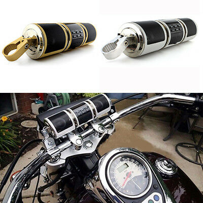 Waterproof Motorcycle Speaker Audio Radio Bluetooth MP3 USB Moto Stereo System