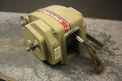 Powerwinch  MODEL 912 USED