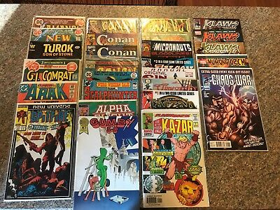 Lot of 28 Silver Age Comic Books