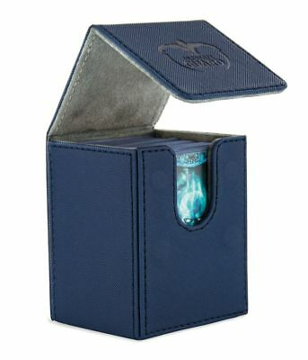 Ultimate Guard - FLIP DECK CASE XENOSKIN 100+ Blue - Cards Boxing Gaming Boxing