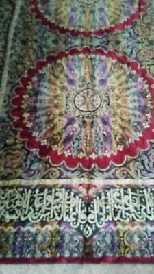 Beautiful ANTIQUE TAPESTRY ( over100 yrs old.)see all pictures! Wide48x72in.long