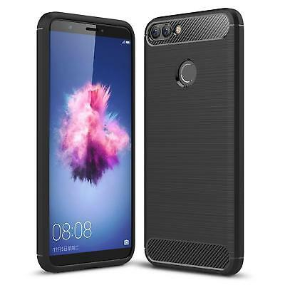 Huawei P Smart Cover Carbon Silicone Cover Phone Cover Cover Case Skin
