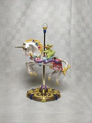 """Pocket Dragons carousel fig""""Riding the Unicorn"""" 2003, *Mint condition* w/org pkg"""