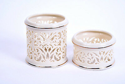Lenox Collectible Matching Decorative Containers Two