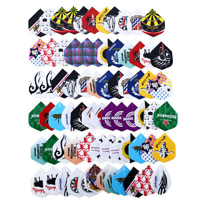 24 sets 72pcs 2D Bling Dart Flights Nice Darts Flight Outdoor Sports New