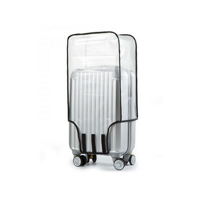 Universal Waterproof Transparent Protective Luggage Suitcase Cover Case Travel X