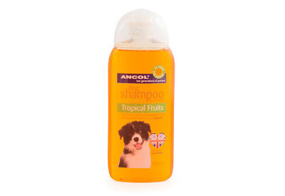 2 X Ancol Luxury Dog Puppy Shampoo Conditioner Tropical Fruits 200ml