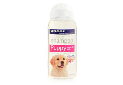 2 X Ancol Puppy Shampoo Conditioner Pure And Mild 200ml