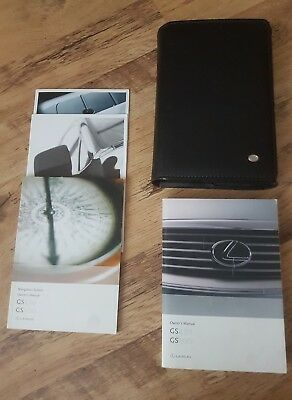 lexus gs430 gs300 owners manual handbook inc sat nav system book genuine 163 36 99 picclick uk