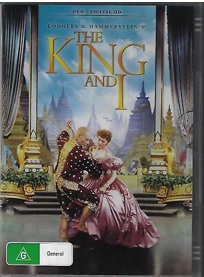 The King And I DVD 2 Disc Set New and Sealed Australia All Regions