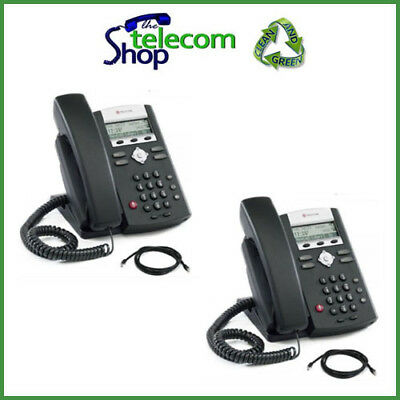 Polycom Soundpoint IP 331 VoIP Telephone in Black - Buy One Get One Free BOGOF