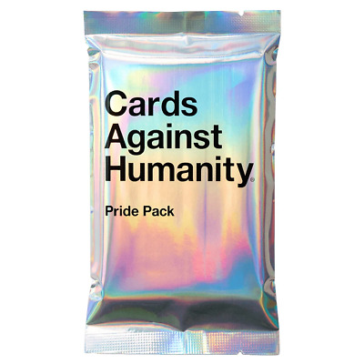 Cards Against Humanity Pride Pack No Glitter NEW