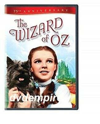 The Wizard Of Oz 2 Disc 75th Ann DVD New and Sealed Australia All Regions