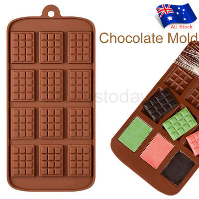 Mini Choc Bar Flexible Silicone Mould Icy Candy Chocolate Cake Jelly Mold