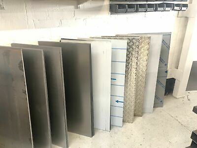 sheet metal 1mm 1.5mm 2mm 3mm chequer plate steel aluminium welding repairs