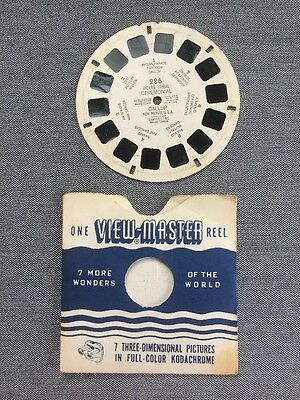 Tribal Ceremony Gallup, New Mexico Native American 1948 Vintage Viewmaster Reel