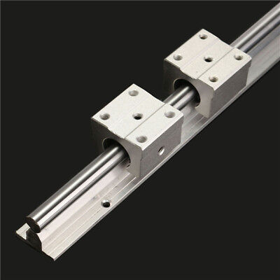 SBR12 600mm Linear Rail Shaft Rod with 2 SBR12UU Block