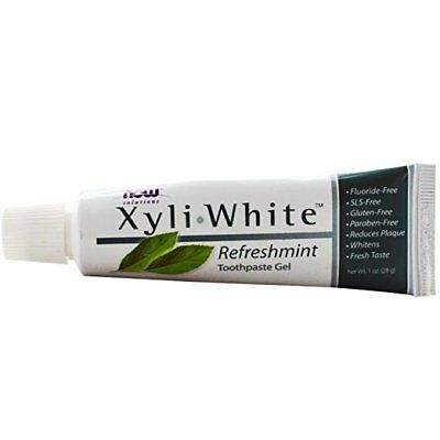 NOW Foods XyliWhite Toothpaste Gel Fluoride-Free Refreshmint, 1 Ounces