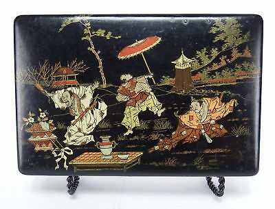 Meiji Period Japanese Lacquer Box