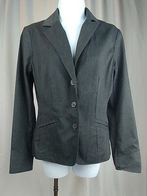 c68860c9c New York & Company Women's 3 Button Down Suit Jacket Size 4 Dark Gray