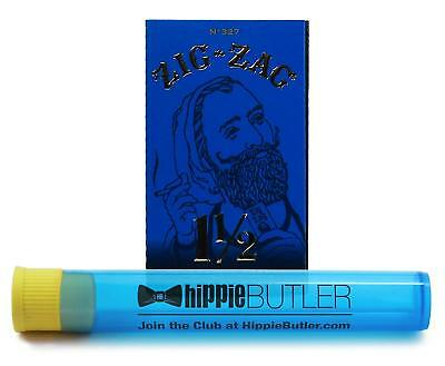 Zig Zag Ultra Thin 1 1/2 Rolling Papers (1 Pack) with Hippie Butler KewlTube