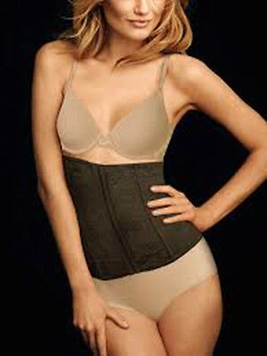 065088b2a NEW Maidenform 83067 Flexees FIRM CONTROL WAIST CINCHER 6 (M) Brown  Shapewear