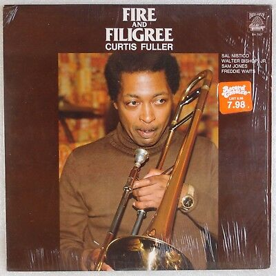 CURTIS FULLER: Fire and Filigree USA Bee Hive BH 7007 Jazz Vinyl LP NM-