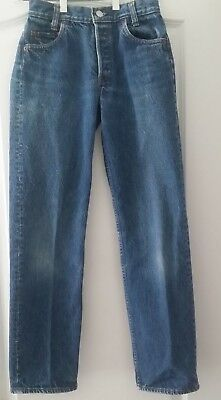 Levis Vintage Students Button Fly Jeans 701-0117  27x32