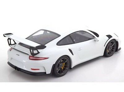New 1/18 Minichamps 2015 Porsche 911(991) GT3 RS White 222pcs