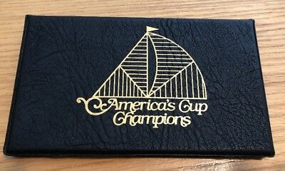 Americas Cup Champions 1980 Fleetwood First Day Of Issue Collection Book Of 4