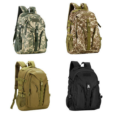 40L Outdoor Military Tactical Backpack Rucksack Hiking Camping Travel Bag ddc1acd984901