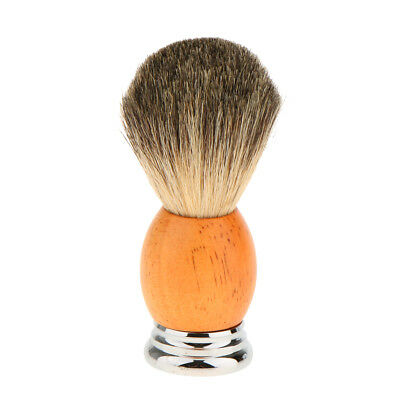 Barber Home Men's Facial Beard Cleaning Tool Badger Hair Shaving Brush