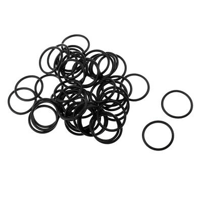 50x Wacky Rings - Silicone Soft O-Rings for Wacky Rigging Worms Carp Fishing