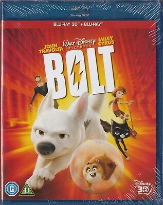 Bolt 3D Blu-ray + Blu-ray _ New sealed