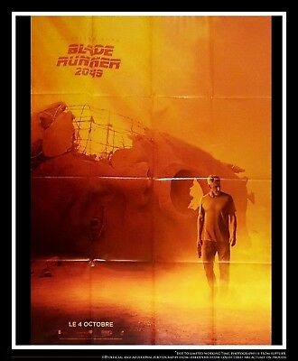 BLADE RUNNER 2047 Style A 4x6 ft French Grande Poster Original Very Rare 2017