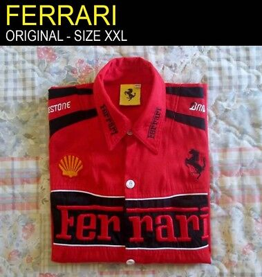 Ferrari Shirt - XXL (The label is XXL but the real size is M)