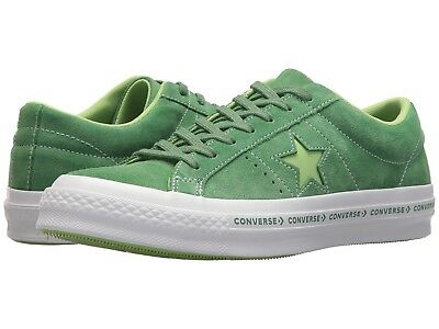 bf7c1886eef4 CONVERSE ONE STAR PINSTRIPE OX Mint Green Suede Mens Shoes size 11.5 ~BRAND  NEW~
