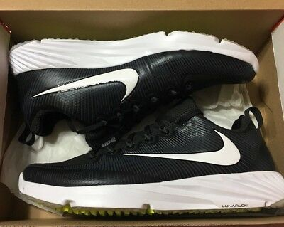 low priced 5f028 8c519 Mens Nike Vapor Speed Turf Pregame Football Shoes 12 Black White 833408-017