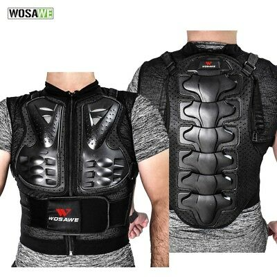 Motorcycle Body Chest Protective Gear Vest Armor Motocross Rider Guard Support
