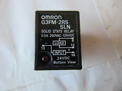 Omron G3FM-2R5SLN Solid State Relay NEW!!! with Free Shipping