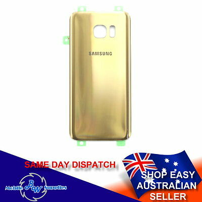 Original Quality Gold Back Battery Cover for Samsung Galaxy S7 G930