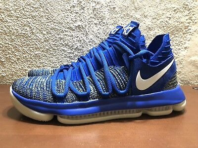 2df38748d4b Nike Zoom KD10 Kevin Durant AV4899 414 Racer Blue Mens size 9.5 NEW Limited