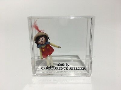 Miniature Artist Signed Carol Spence Sellner Doll 1:12 scale NEW Never Opened