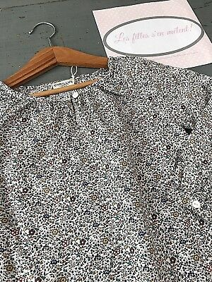 CYRILLUS 4 ans ++  Blouse en coton liberty authentique ++