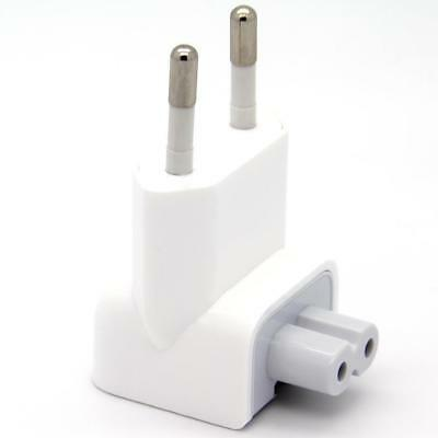 EU AC Power Adapter Charger Wall Plug Duck Head Piece For Apple Mac Book Pro/Air