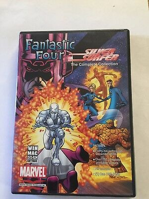 Fantastic Four & Silver Surfer Comics Collections on DVD-ROM (Excellent Cond.)