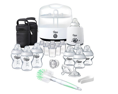 Tommee Tippee Complete Baby Bottle Warmer Electric Steriliser Baby Feeding Kit
