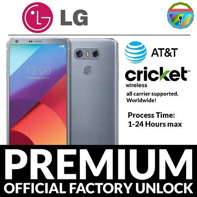 LG SPREE K120 Cricket Wireless Unlock Code Unlocking Service Walmart