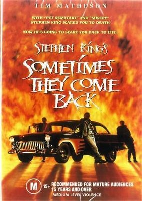 Sometimes They Come Back Stephen King DVD New and Sealed Australia All Regions