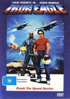 Iron Eagle DVD New and Sealed Australia All Regions